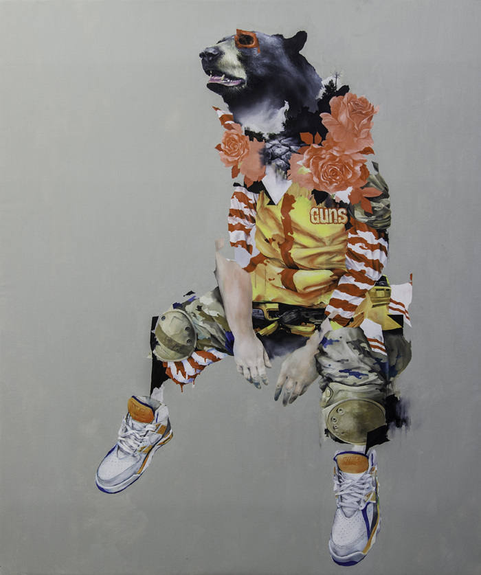 "Joram Roukes ""Les Bons Sauvages"" @ Stolenspace, London: Guns_and_Roses_Joram_Roukes.jpg"