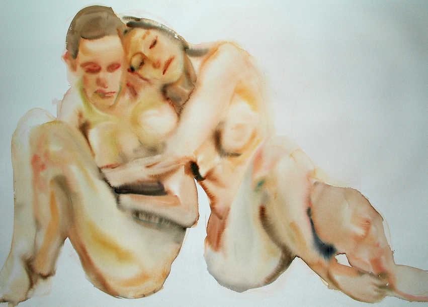 Federico Lombardo's Nude Watercolors: Screen Shot 2013-03-05 at 12.45.30 PM.png
