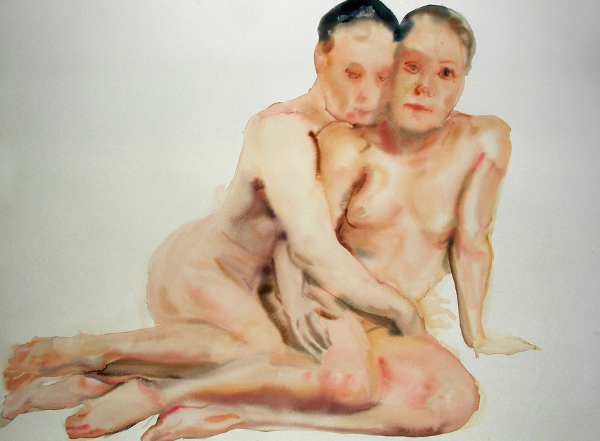 Federico Lombardo's Nude Watercolors: Screen Shot 2013-03-05 at 12.45.38 PM.png