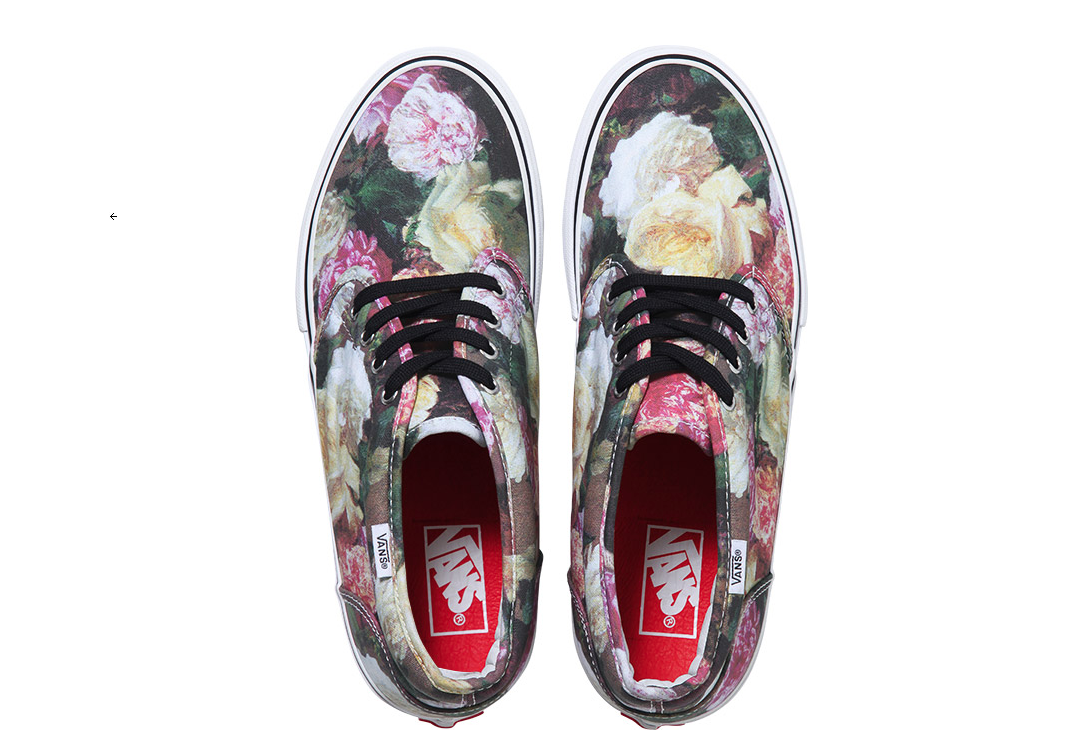 "Supreme x Vans incorporate Peter Saville's classic New Order ""Power, Corruption & Lies"" Artwork: Screen shot 2013-03-06 at 8.09.08 AM.png"