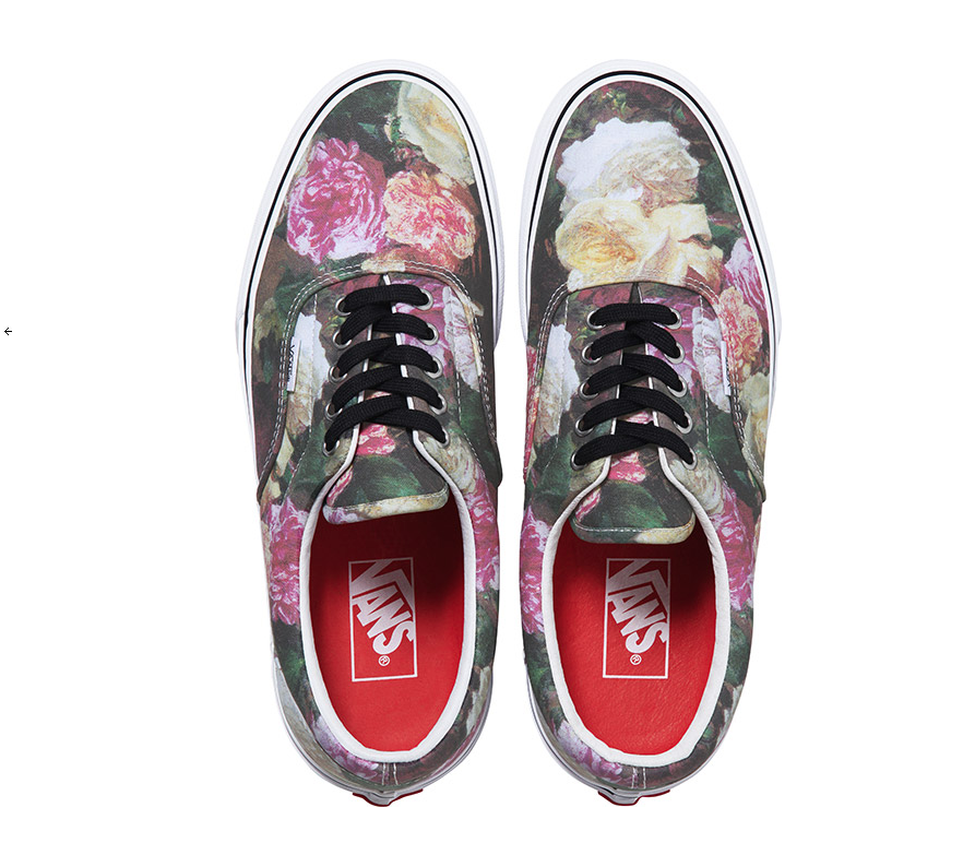 "Supreme x Vans incorporate Peter Saville's classic New Order ""Power, Corruption & Lies"" Artwork: Screen shot 2013-03-06 at 8.09.14 AM.png"