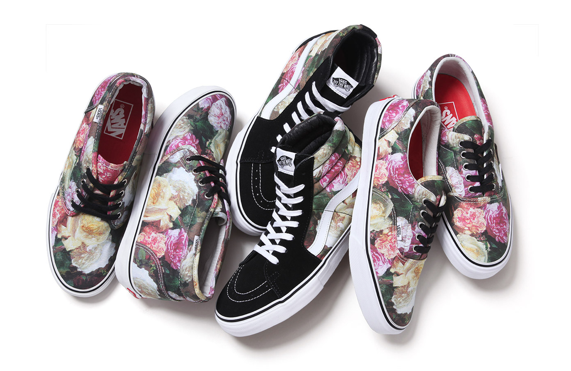 "Supreme x Vans incorporate Peter Saville's classic New Order ""Power, Corruption & Lies"" Artwork: Screen shot 2013-03-06 at 8.09.31 AM.png"