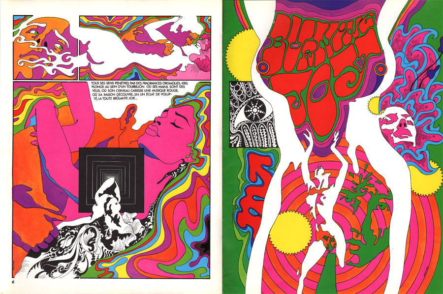 Drawings by French Cartoonest and Illustrator Philippe Caza: kris-kool-caza-1970.jpeg