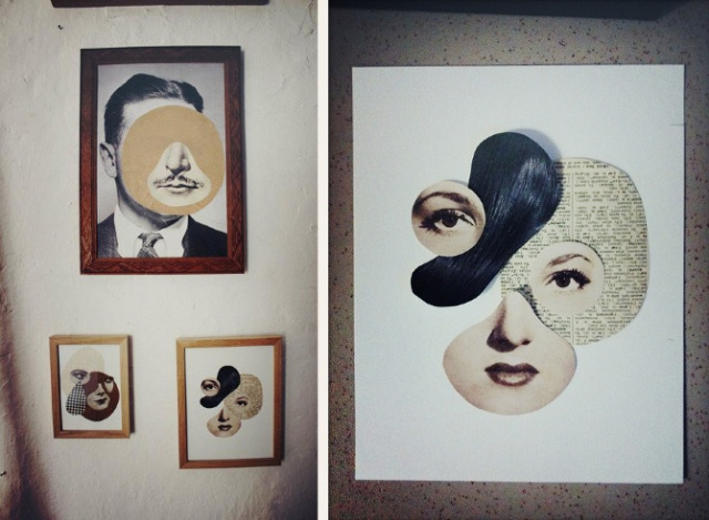 Collages by Mathilde Aubier: visages_bis.jpg