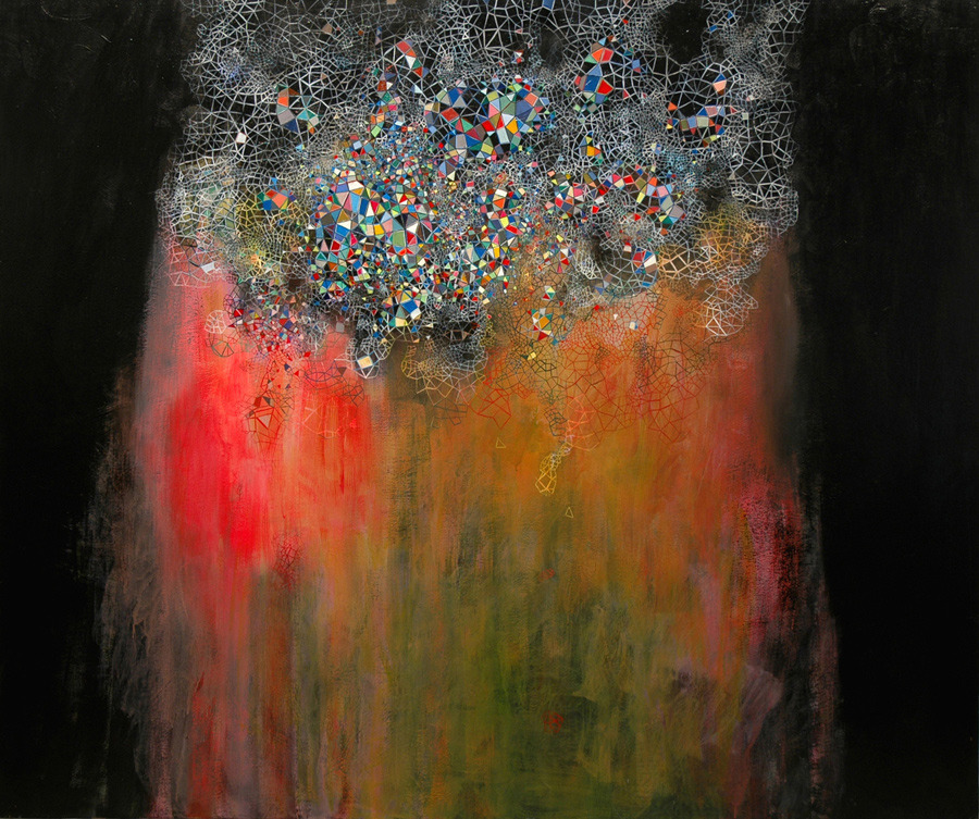 Abstract Paintings by Jennifer Coates: 05-Aurora--2008_905.jpg
