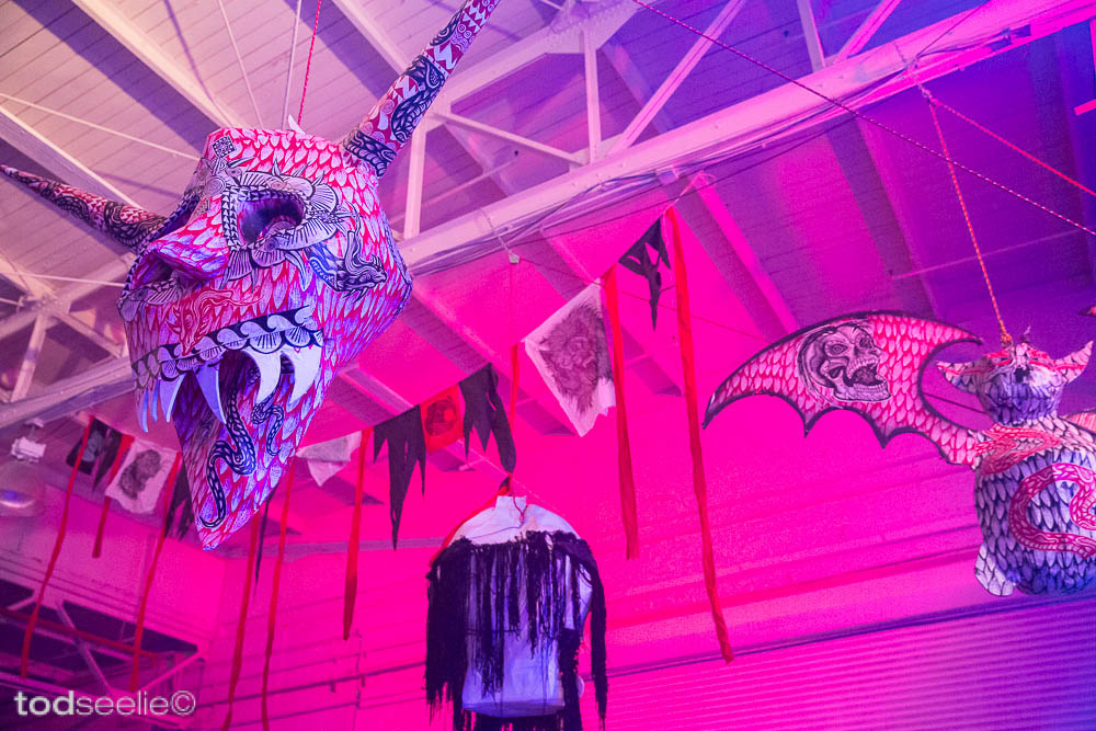 "Photos: Dennis McNett's ""Wolfbat's Ark"" @ House Of Vans, Brooklyn: 8545635637_369cb233e8_b.jpg"