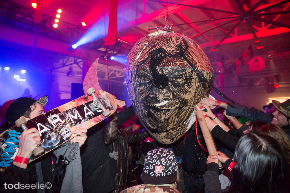 "Photos: Dennis McNett's ""Wolfbat's Ark"" @ House Of Vans, Brooklyn: 8546750848_2c86358a9a_b.jpg"