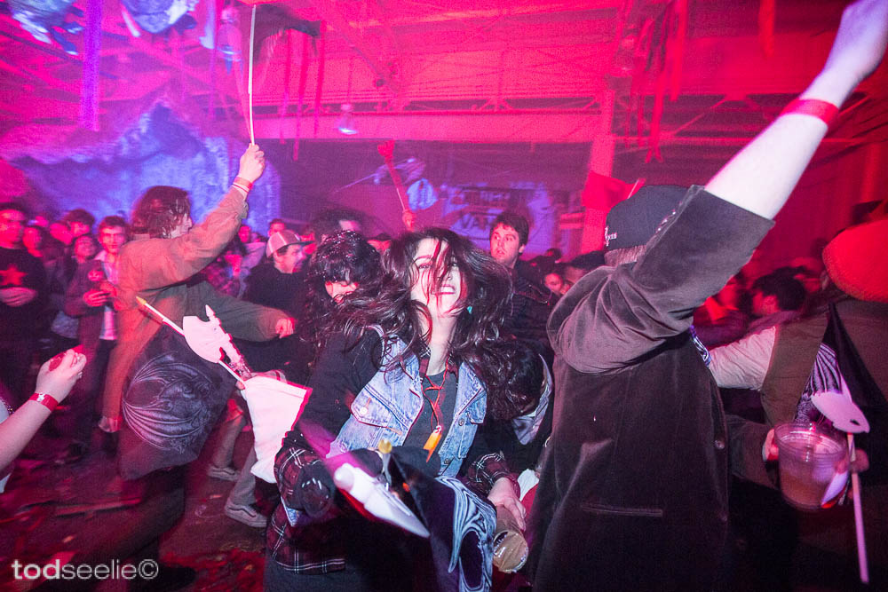 "Photos: Dennis McNett's ""Wolfbat's Ark"" @ House Of Vans, Brooklyn: 8546777300_d611f0c542_b.jpg"