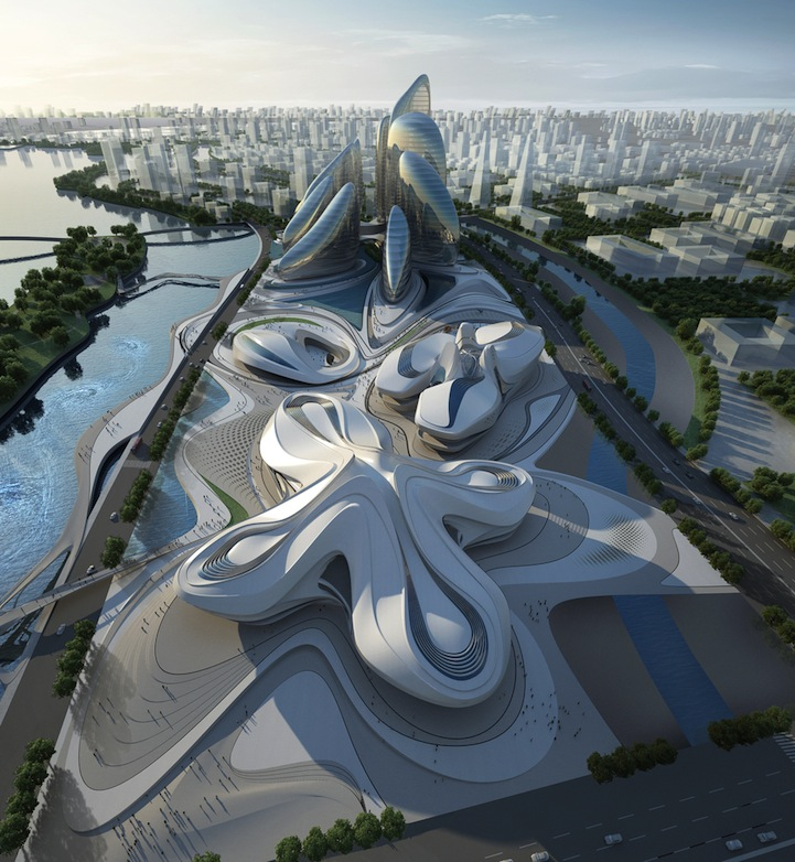 Design for Changsha Meixihu International Culture & Art Centre: zaha-hadid-architects-changsha-meixihu-international-culture-art.jpeg