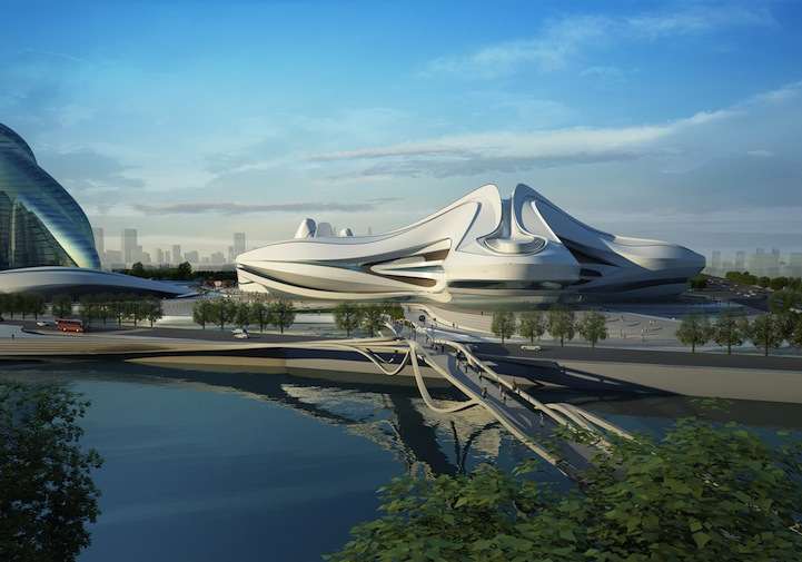 Design for Changsha Meixihu International Culture & Art Centre: zahahadidchangshameixihu1.jpg