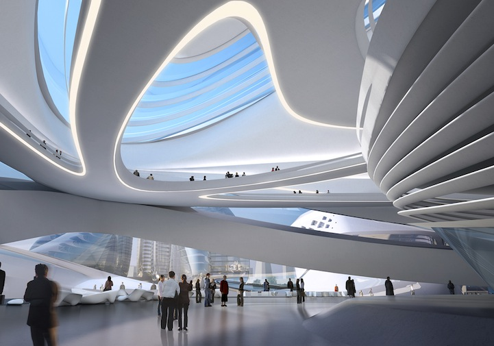 Design for Changsha Meixihu International Culture & Art Centre: zahahadidchangshameixihu3.jpg