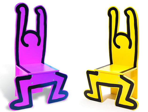 Keith Haring Kids Chairs: KeithHaring-Chair-Vilac-2.jpg