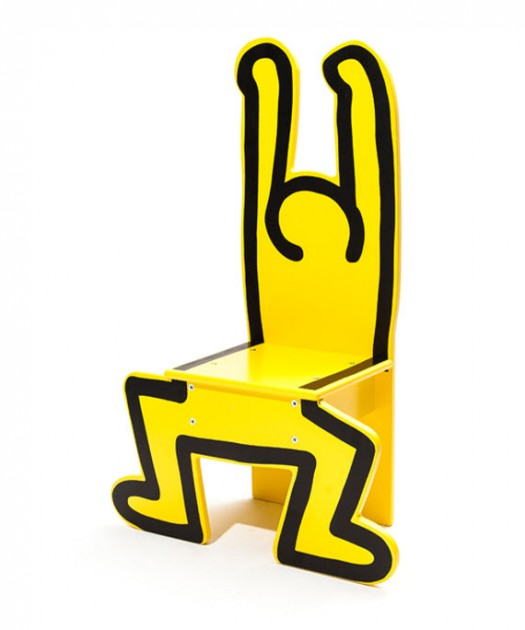 Keith Haring Kids Chairs: KeithHaring-Chair-Vilac-3-525x630.jpg