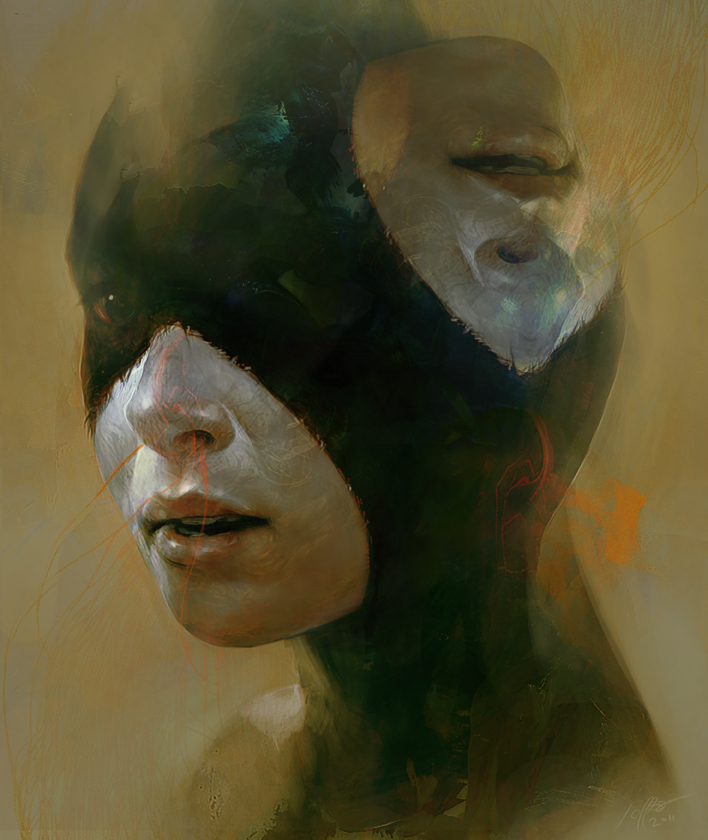 Paintings by Jeff Simpson: janus.jpg