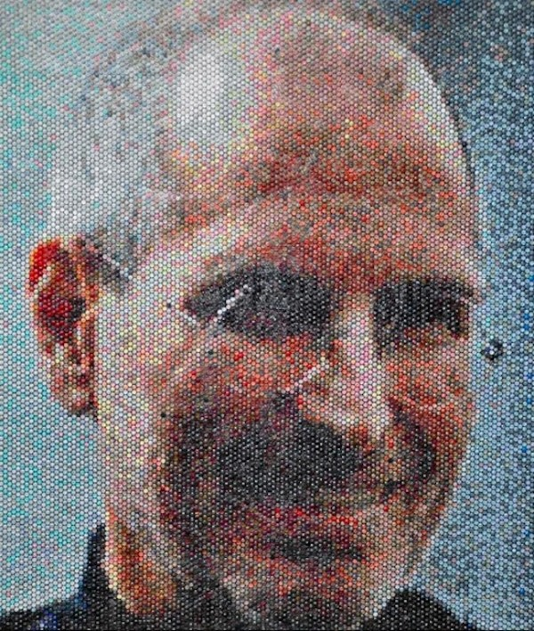 Click to enlarge image Bradley Hart Bubble Wrap Paintings 1.jpeg