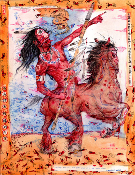 The Works of Mu Pan: crazy_horse.jpg
