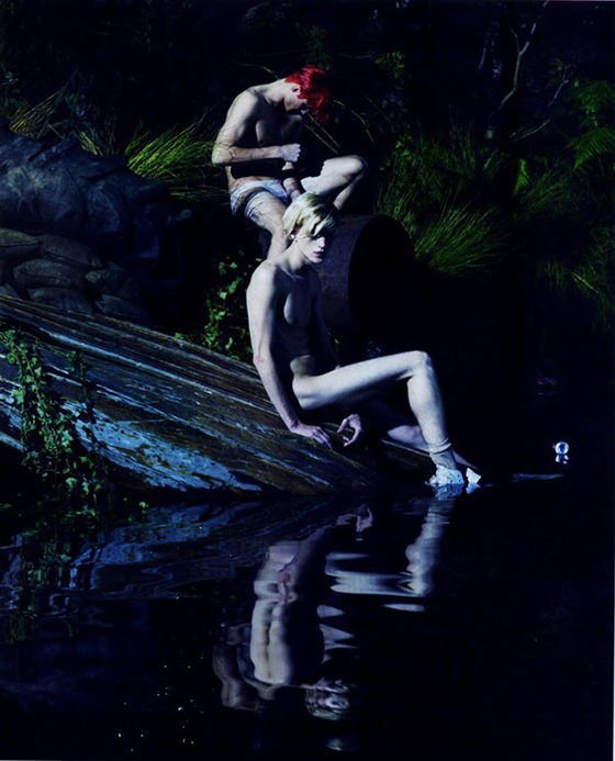 'What Lies Beneath' for Love Magazine: lara-stone-mert-marcus02.jpg