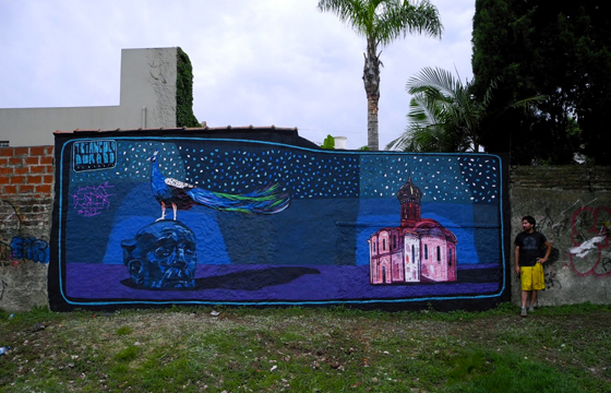 New Mural by Triangulo Dorado: jux_traingulo_dorado.jpg