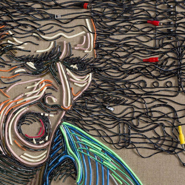 Federico Uribi Paints with Repurposed Electrical Wires: uribe-9.jpg