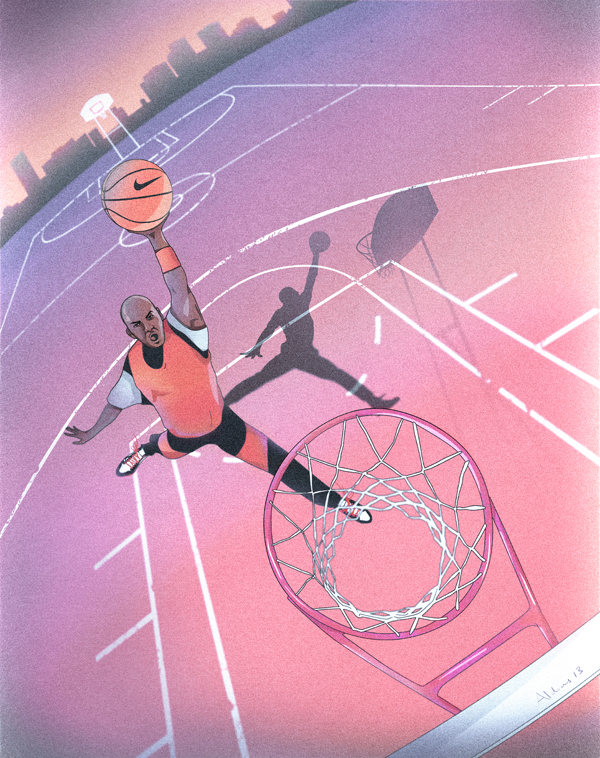 Doubleday & Cartwright: 50 Artists/50 Moments in the Life Of Michael Jordan: 01.jpg