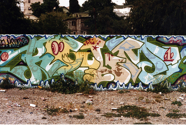FRIDAY SPOTLIGHT: '80s & '90s Los Angeles Graffiti by $Path: jux_los_angeles_graffiti38.png