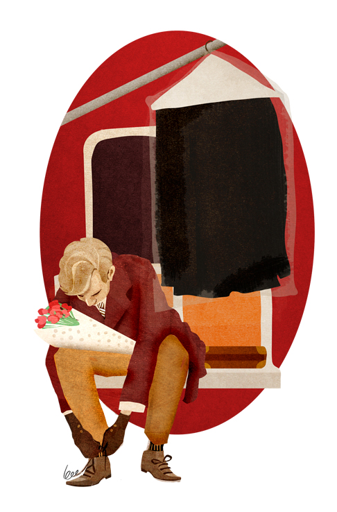 The Illustrated Train by Bee Johnson: tumblr_mh0e6xbJB01rjsxtfo1_500.jpg