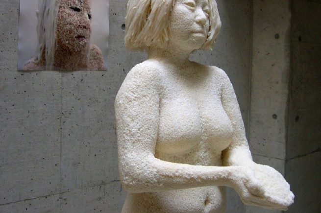 100 Pound Rice Sculpture by Saeri Kiritani: Saeri-Kiritani-Japanese-Sculpture2.jpg