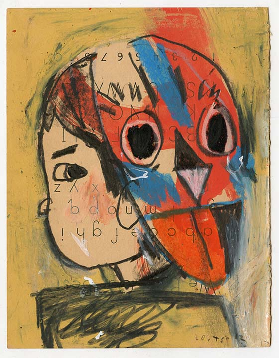 Tessar Lo's Expressionistic Illustrations: masks-on-systems-7-5-x-9-5-19-x-24-cm-mixed.jpeg