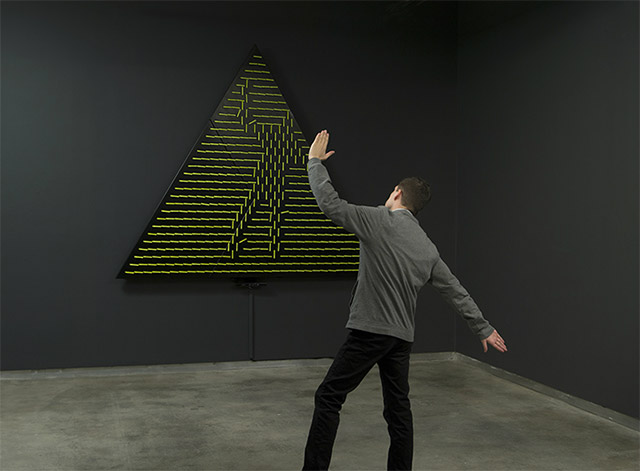 Interactive Mirrors by Daniel Rozin: angles_mirror.jpg
