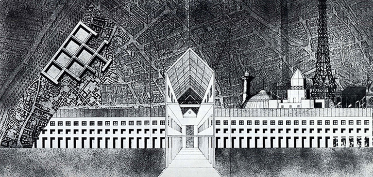 Drawings and Sketches by Italian Architect Aldo Rossi: 298.jpeg