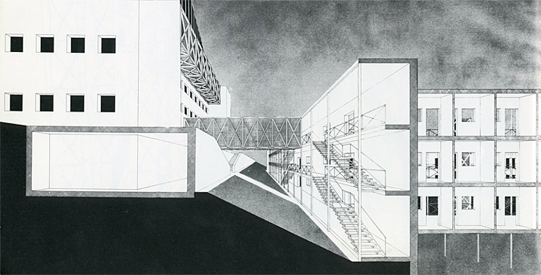 Drawings and Sketches by Italian Architect Aldo Rossi: 540.jpeg