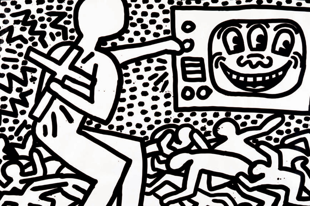 Keith Haring Retrospective @ MAM Paris: keith-haring-the-political-line-retrospective-exhibition-mam-paris-2.jpg
