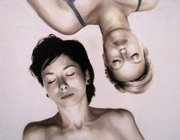 Photorealistic Paintings from Manipulated Photos by Jessica Rebik: jessica-rebik8.jpg