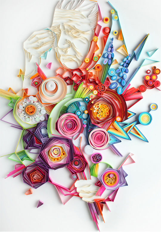 New Quilled Paper Work from Yulia Brodskaya: JuxtapozYuliaBrodskaya03.jpg
