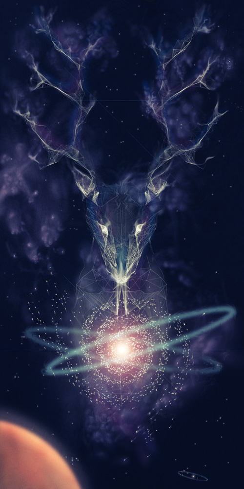 Fractal Fauna by Jordan Rogers: Birth-of-a-Star_Main.jpg