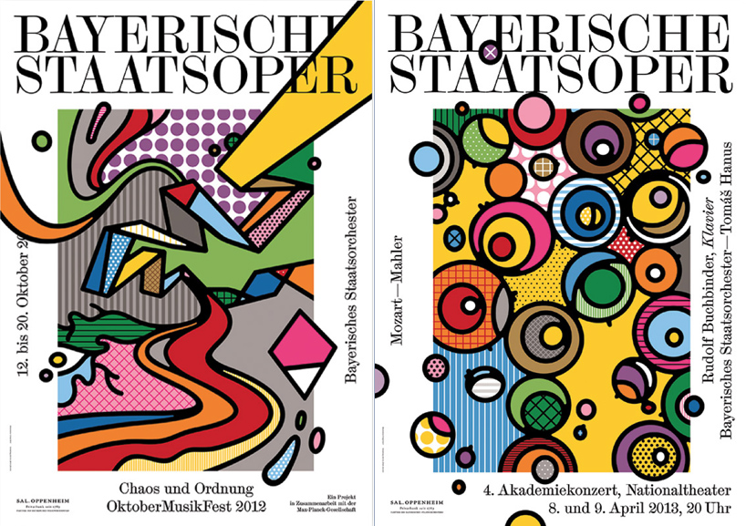 A Poster Series for the Bavarian State Opera by Craig and Karl: chaosundordnung.jpg