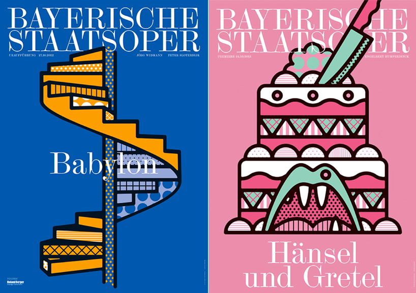 A Poster Series for the Bavarian State Opera by Craig and Karl: hanselandgretel.jpg