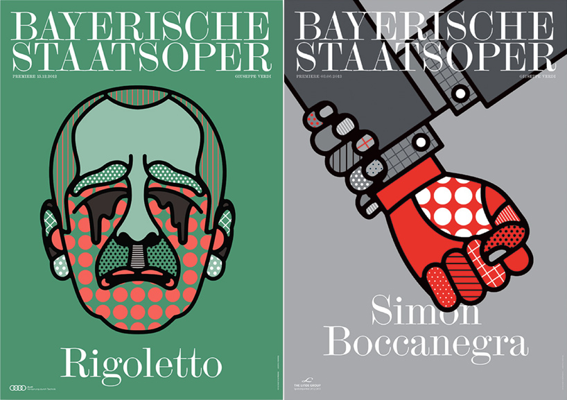 A Poster Series for the Bavarian State Opera by Craig and Karl: rigoletto.jpg