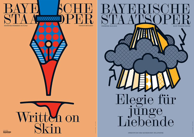 A Poster Series for the Bavarian State Opera by Craig and Karl: writtenonskin.jpg
