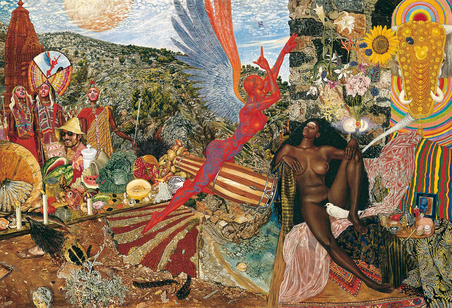 Surreal Paintings by Abdul Mati Klarwein: artworkgallery-2.jpeg