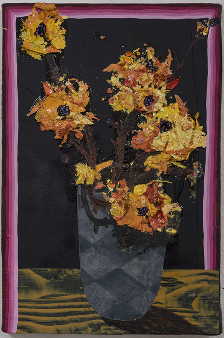 "Amir H. Fallah ""The Collected"" @ Gallery Wendi Norris, SF: Amir-Fallah_Bouquet-On-Fire_lg.jpg"