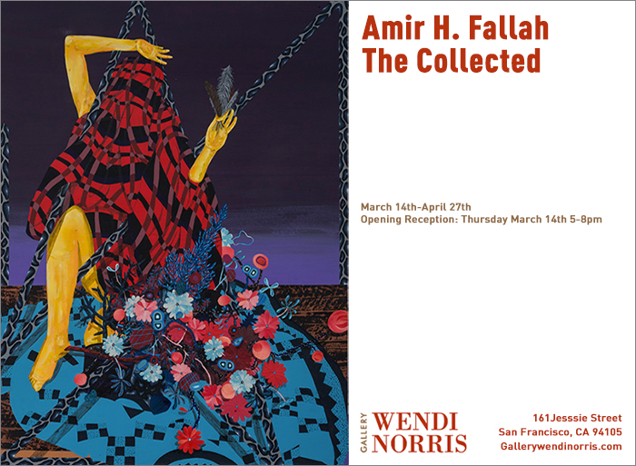 "Amir H. Fallah ""The Collected"" @ Gallery Wendi Norris, SF: showinvite.jpg"