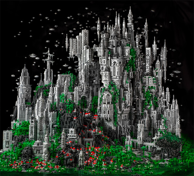 Mike Doyle Creates a 200,000 Piece Sci-Fi LEGO Sculpture: doyle-1.jpg