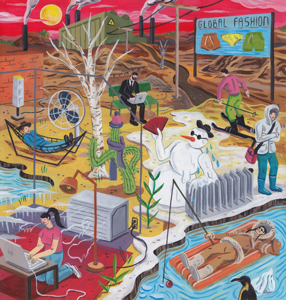 New Illustrations by Brecht Vandenbroucke: NYTimes CulteComfortenergy def.jpg