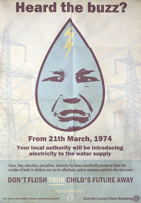 Informational Posters and Books from a Fictional 1970s British Town: 1electricwaterwwwscarfolkblogspotcom_0.jpg