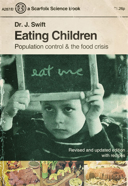 Informational Posters and Books from a Fictional 1970s British Town: eatingchildren_1.jpg