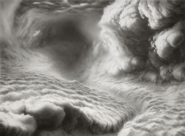 Hilary Brace Draws Her Cloud Worlds with Charcoal and an Eraser: hilary-brace1.jpg