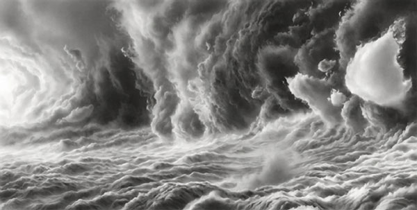 Hilary Brace Draws Her Cloud Worlds with Charcoal and an Eraser: hilary-brace3.jpg