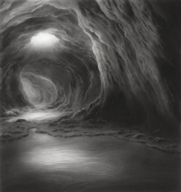 Hilary Brace Draws Her Cloud Worlds with Charcoal and an Eraser: hilary-brace8.jpg