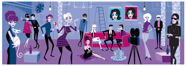 "Opening: Josh Agle (Shag) ""Thursday's Girl"" @ Jonathan LeVine Gallery, NYC: Screen shot 2013-04-06 at 10.26.03 PM.png"